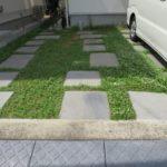 駐車場の土間仕上げ