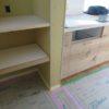 畳下収納とオーダーキッチン