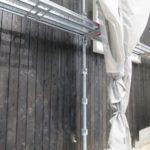 木の板貼りの外壁仕上げ