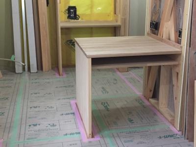 作り付け作業台