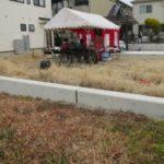 神戸市垂水区KY様邸の地鎮祭