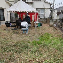 神戸市垂水区の地鎮祭