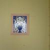 トイレ手洗いとタイルの装飾