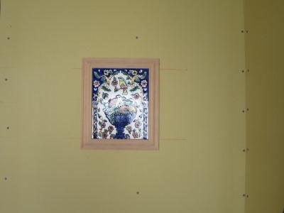 タイルの装飾