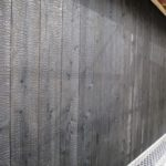 焼杉板貼り