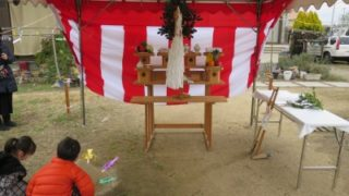 加古川市H様邸の地鎮祭