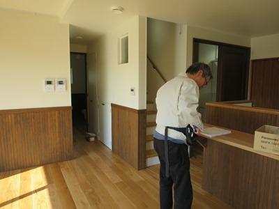 全館空調の家の完了検査