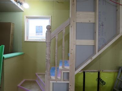 階段装飾手摺