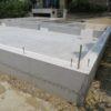神戸市垂水区A様邸の基礎工事完了