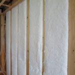 外装下地工事と断熱工事