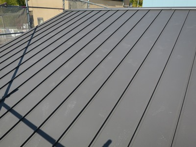 SGL鋼板屋根