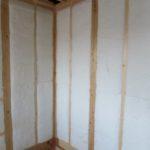 高性能グラスウール断熱材の施工