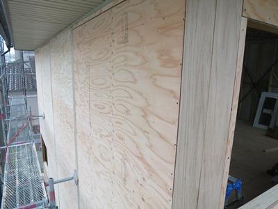 外壁下地板