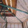 屋根下地補強と外壁下地