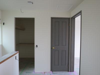 内部の塗装完了