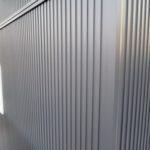 ガルバリウム外壁と間接照明