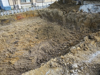 地盤表層改良工事