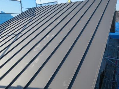 ガルバ屋根SGL鋼板