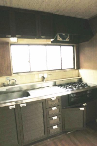 リノベーション前キッチン