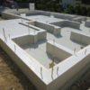 播磨町U様邸の基礎工事完了