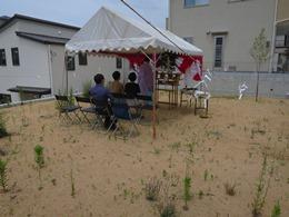 神戸市北区で地鎮祭