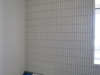 壁のタイル張り