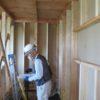 中間検査と屋根鋼板葺き