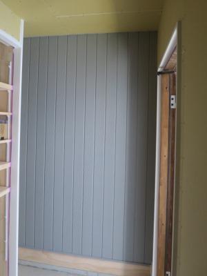壁板張り塗装