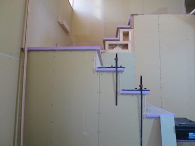 吹抜け階段造作I