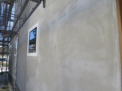 外壁シゴキ塗り
