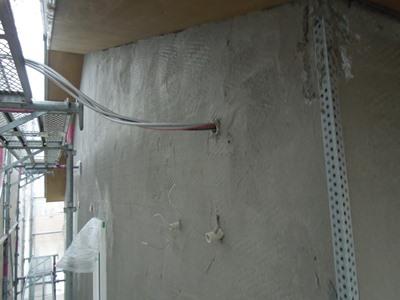 外壁モルタル塗り