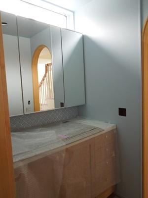 洗面台3面鏡