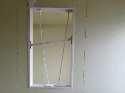 室内無垢窓枠