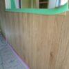 塗装と壁紙貼り