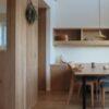 家具の搬入と板塀+ウッドデッキ施工