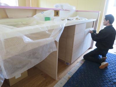 木製造作キッチン