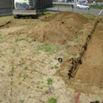 基礎工事の着工と配筋検査