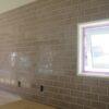 キッチンと洗面化粧台の壁タイル