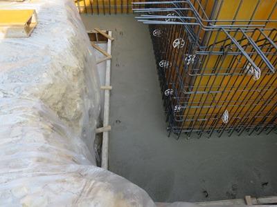 深基礎ベースコンクリート