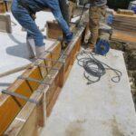 神戸市北区KM様邸の基礎工事完了と土台敷き